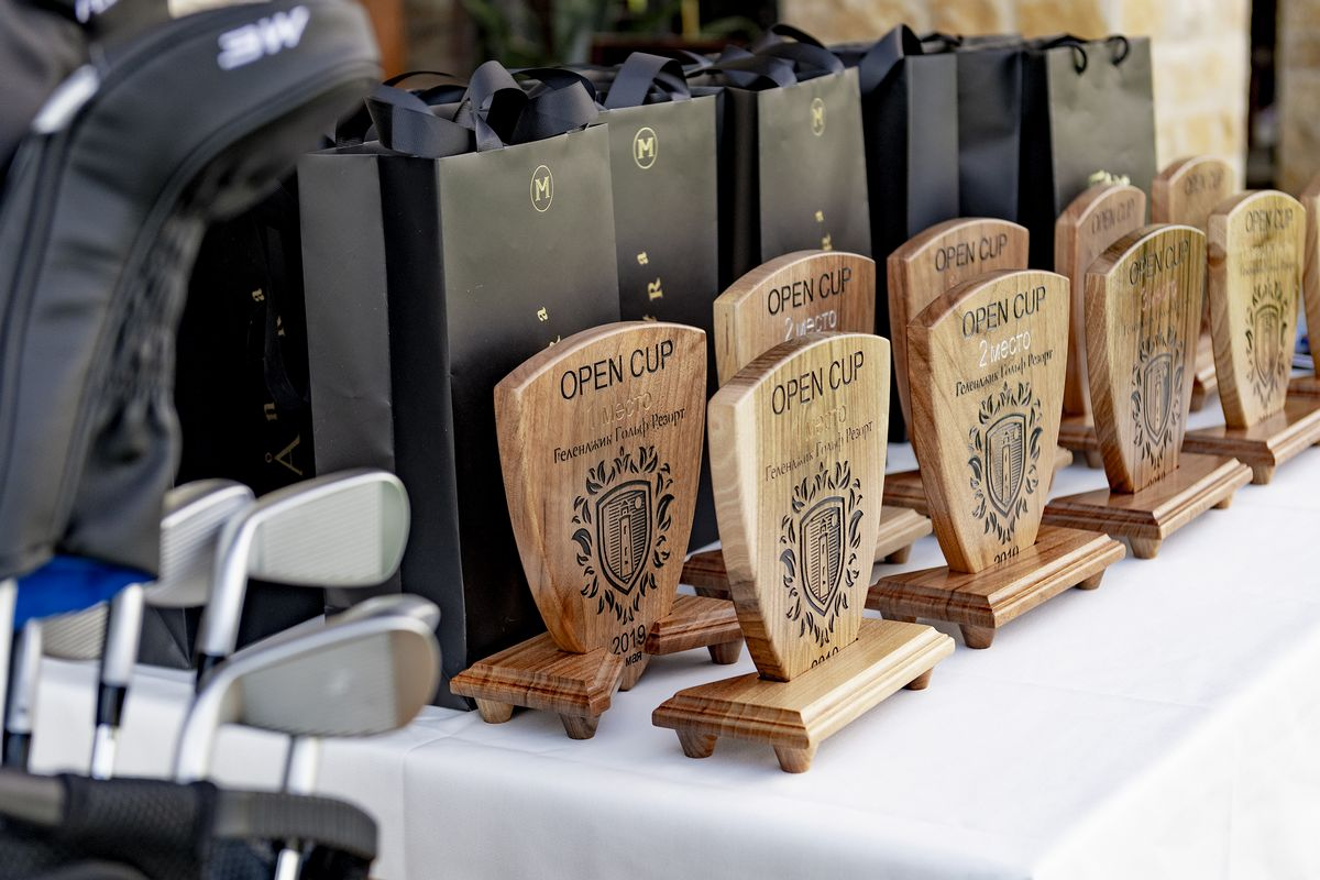 Турнир Open Cup посвященный открытию гольф-клуба в Геленджике 4 мая
