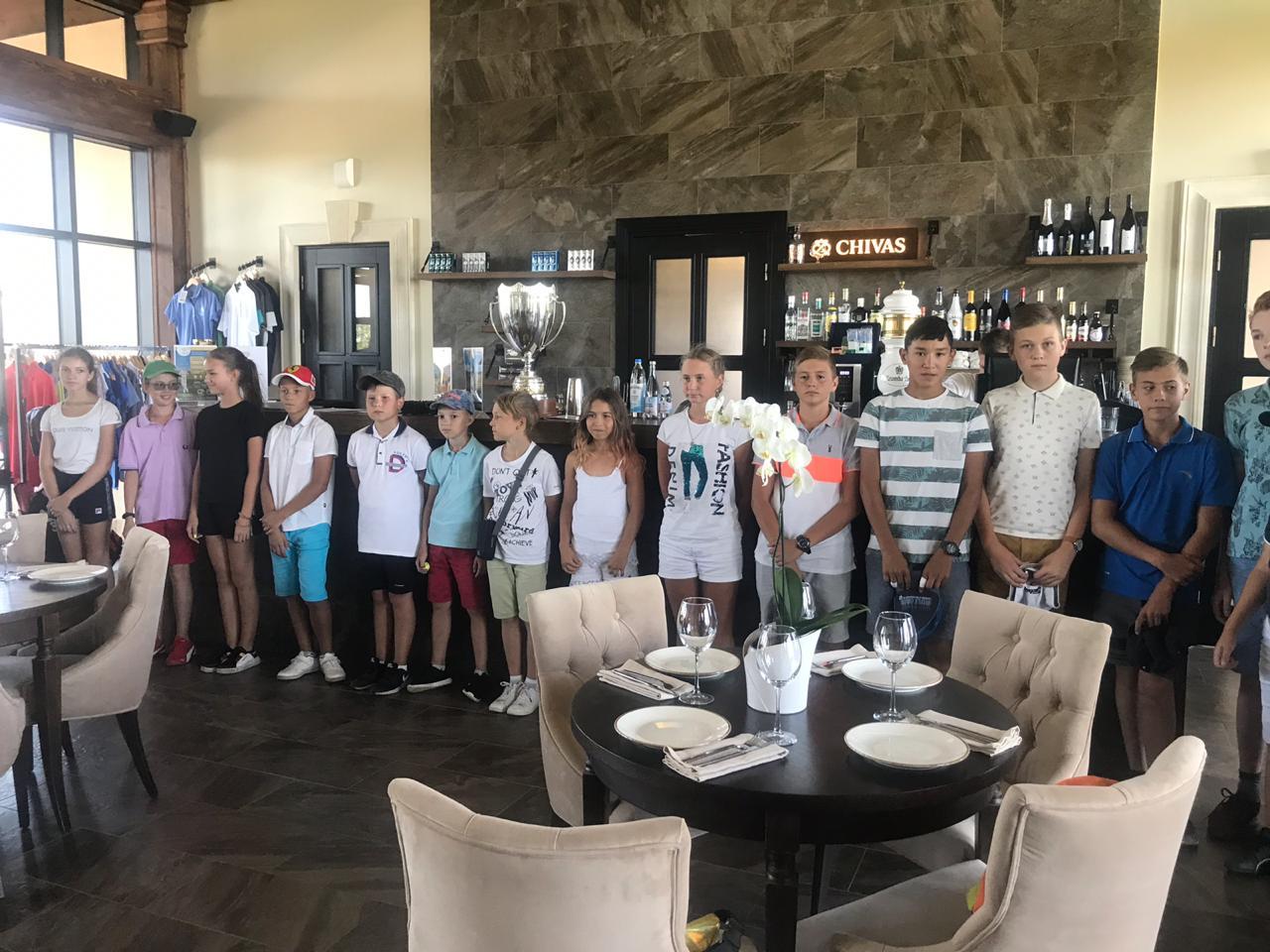 28.08 Детский турнир по гольфу KIDS CHALLENGE 2019