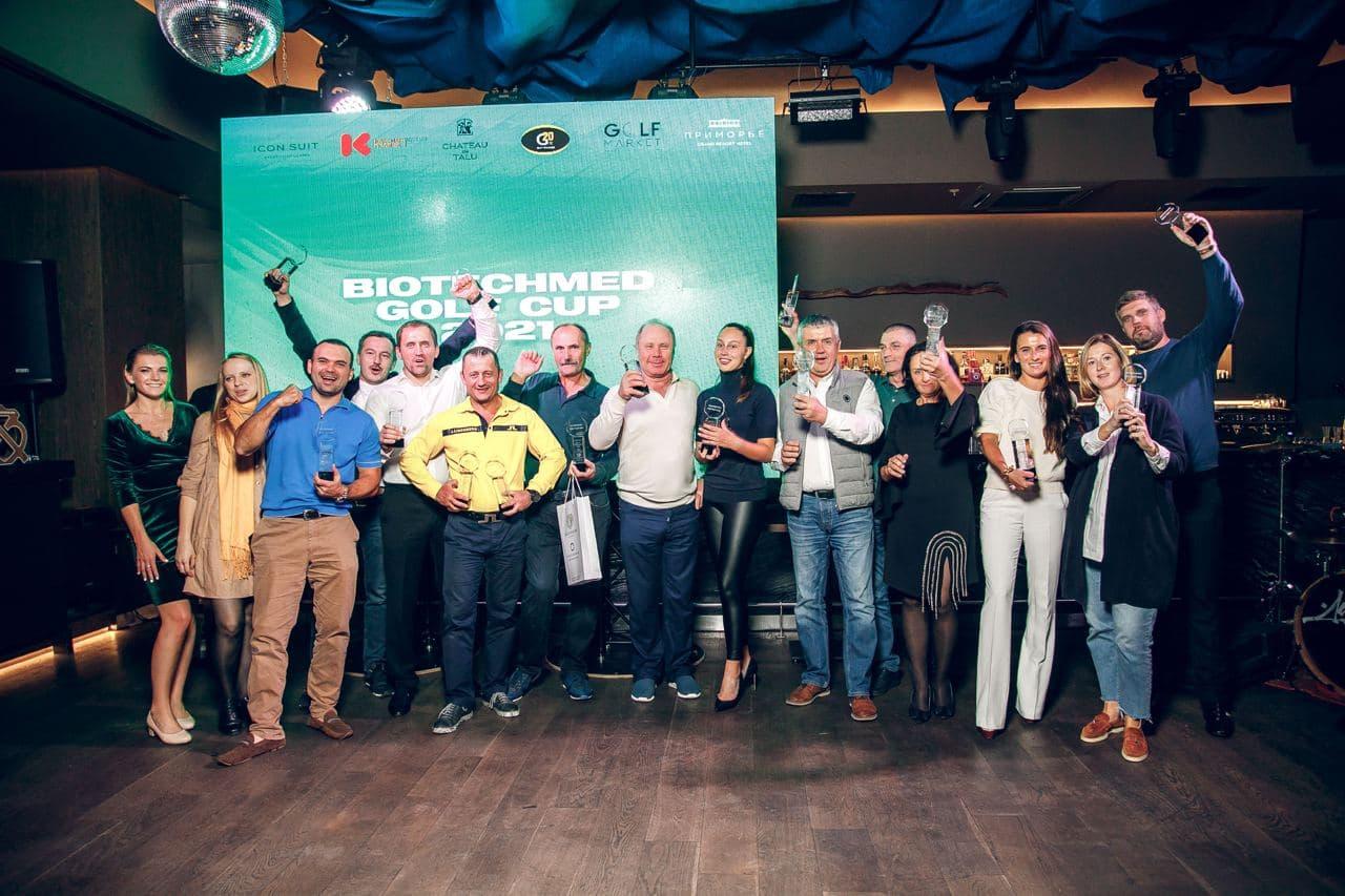 Ежегодный турнир по гольфу BIOTECHMED GOLF CUP 2021 завершился!